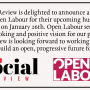 The Social Review Podcast Episode 31: Previewing Open Labour's Conference