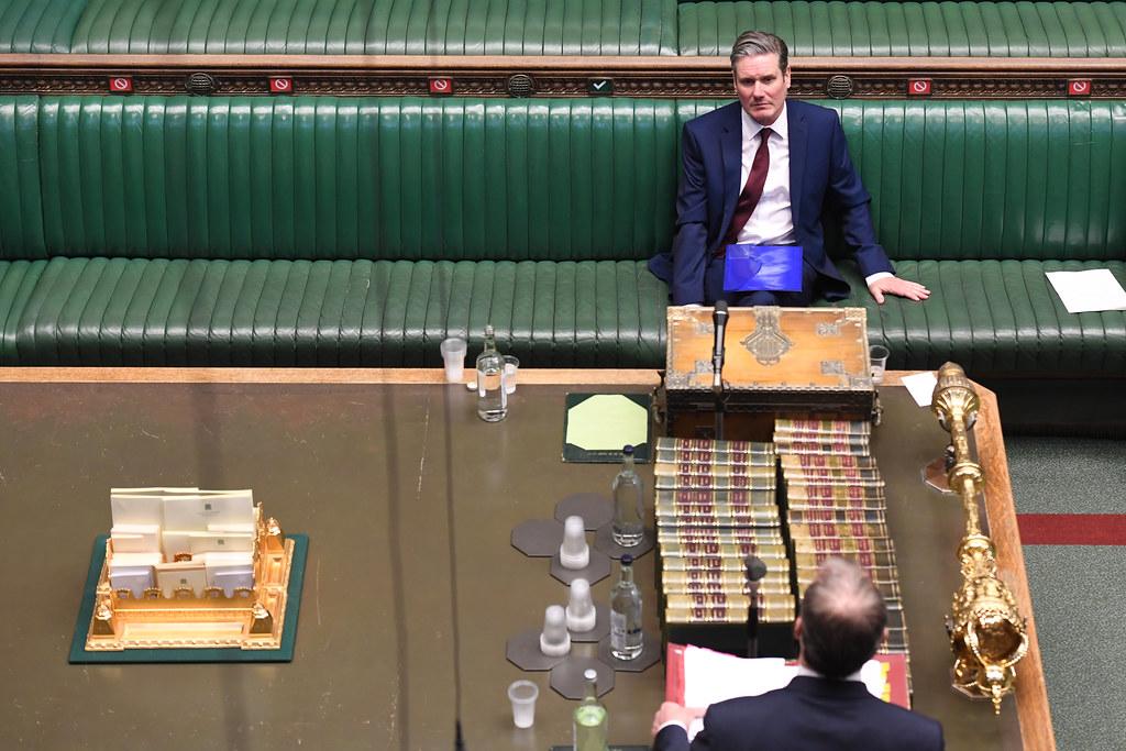 Keir Starmer in parliamentt