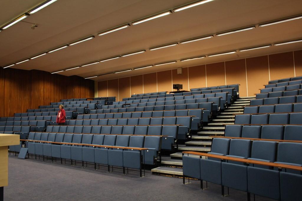 A lecture theatre